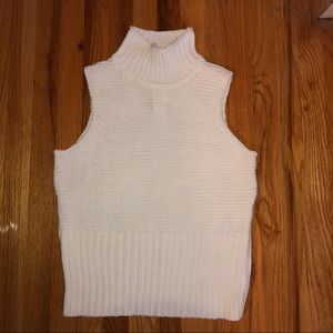 Gap Sweater Tank Top with Mock Neck
